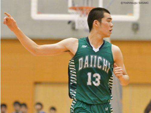 福岡第一のインサイドを陰で支えた神田壮一郎「優勝できたことが一番うれしい」