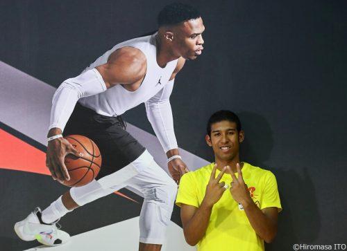 NBA選手の前でプレーした福大大濠の横地聖真「得意なプレーをアピールできました」