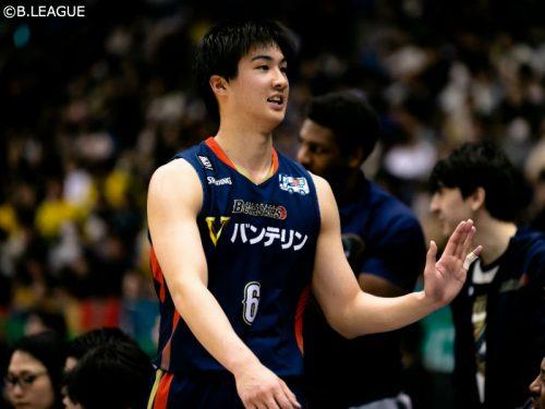 法政大4年の中村太地、バスケ部を退部して京都ハンナリーズと選手契約「仲間にはとても感謝」