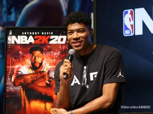 八村塁がNBA公認ゲームソフト『NBA2K20』オフィシャルアンバサダー就任に「ドラフトされた時ぐらいうれしい」