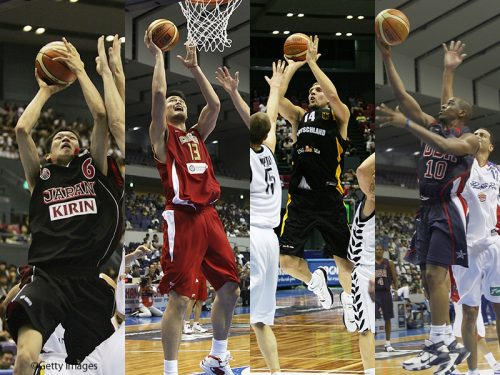NBAからユーロリーグまで世界のトップ選手が集まるFIBAワールドカップ
