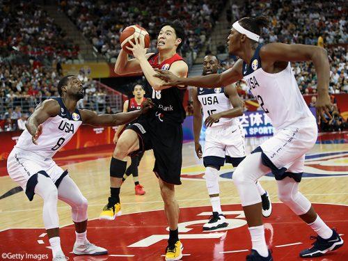 【バスケ日本代表】来年の東京オリンピックを見据えて残り2試合をプレーしたい
