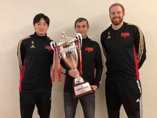 アルバルク東京が凱旋帰国。昨年の悔しい経験をもとにタフなチームに成長できたのが勝因