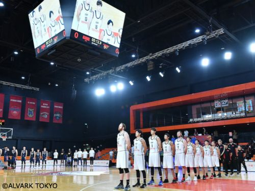 アルバルク東京が20点差快勝、アジアチャンピオンズ杯初戦を白星で飾る
