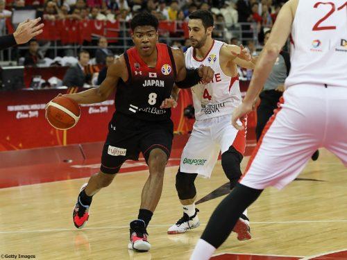 日本、13年ぶり出場のW杯は黒星発進…FIBAランク17位のトルコに敗戦