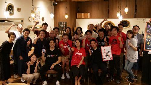 日本代表戦前日、ビール片手に熱くバスケを語る…応宴イベント開催