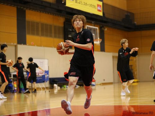 女子日本代表がアジアカップ4連覇に向けて最終調整