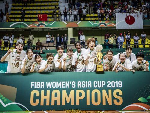 女子日本代表、アジア4連覇達成! 中国を3点差で退け通算5度目の優勝