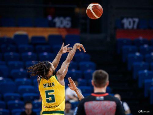 オーストラリア、ドミニカに6点差で競り勝つ…ミルズが19得点9アシストの活躍