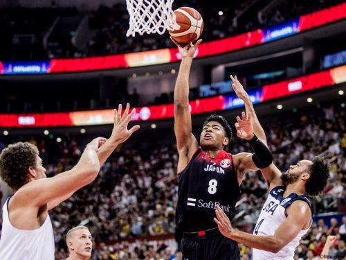 """日本、""""NBA軍団""""アメリカに大敗…1次ラウンド3連敗で順位決定戦へ"""