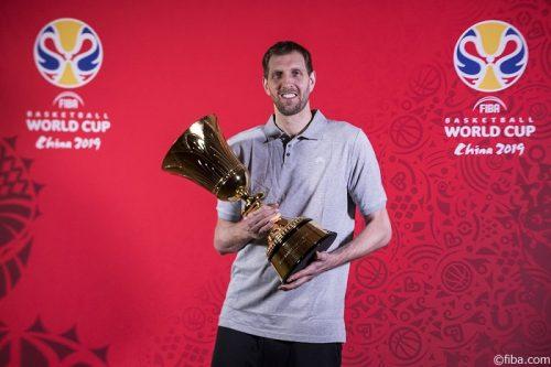 W杯のアンバサダーを務めるダーク・ノビツキー「バスケットの国際化を手助けしたい」