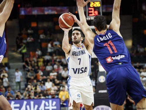 アルゼンチン、ベスト4一番乗り…FIBAランク4位のセルビアを撃破
