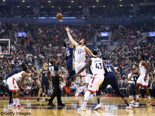 NBA2019-20シーズン開幕! 昨季王者のラプターズが延長戦の末にペリカンズを下す