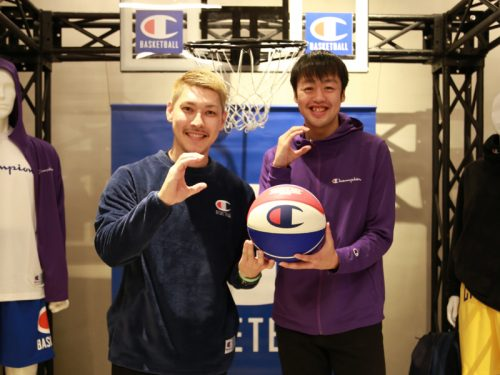 Championのイベントに山内盛久と田渡修人が登場、今季の抱負を語る
