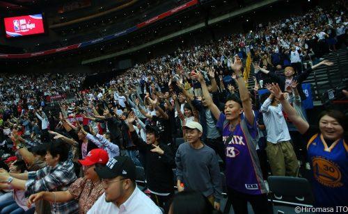 現役NBA選手からレジェンド選手まで! 1万4,631人が「NBA Fan Night」を満喫