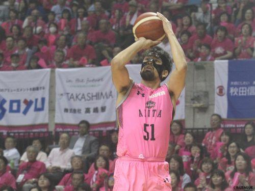 秋田ノーザンハピネッツに痛手、古川孝敏が全治約1カ月半前後の負傷