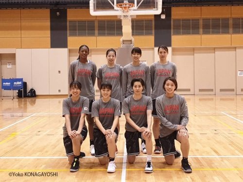 U23W杯優勝の山本、馬瓜らが参加。東京五輪出場に向けて3x3女子日本代表が強化合宿を実施