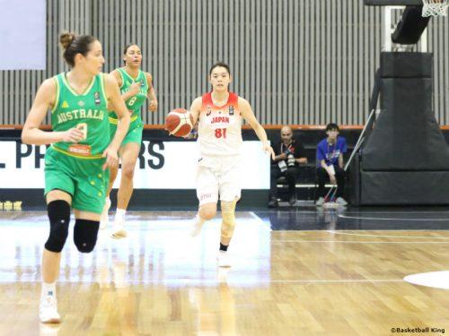 女子日本代表、強豪オーストラリアを退け3連勝…本橋菜子が16得点7アシストの活躍