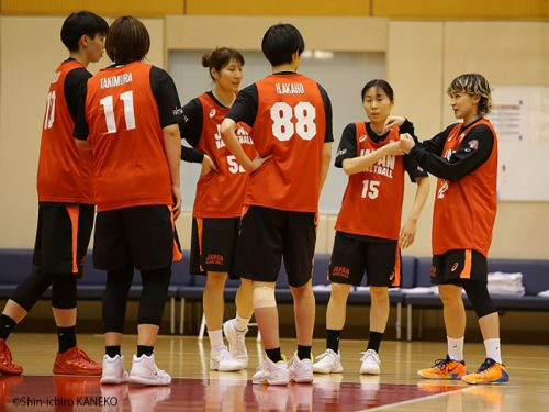 女子日本代表が再始動。2年ぶりに復帰の吉田亜沙美も存在感を発揮