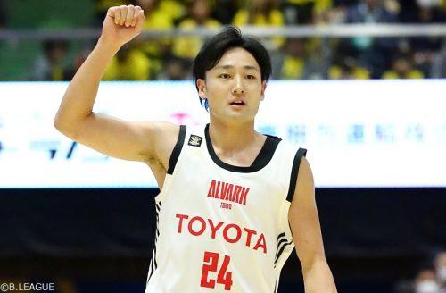 切れ味鋭いプレーが光るA東京の田中大貴「トップでなければオリンピックで戦えない」