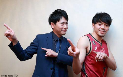 「三代目 J SOUL BROTHERS 山下健二郎のZERO BASE」全日本バスケ特集コーナーに篠山竜青登場!