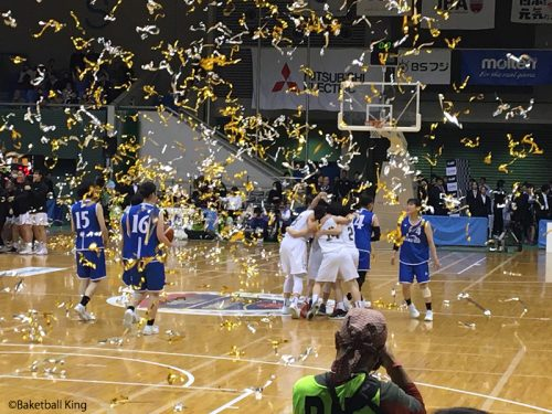 東京医療保健大学、バスケインカレで3連覇を達成