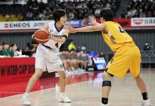 「自分を信じてくれてありがとう」――野本美佳子が東京成徳大の中高6年間に閉幕