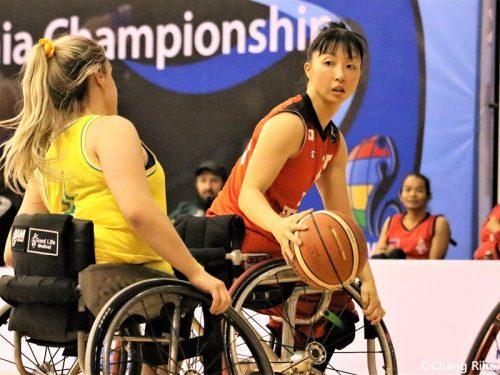 車いすバスケ女子代表、準決勝で豪州に敗れる
