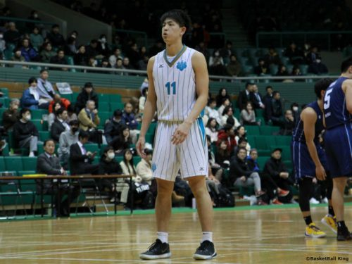 インカレアシスト王の増田啓介、特別指定選手として川崎ブレイブサンダースに加入