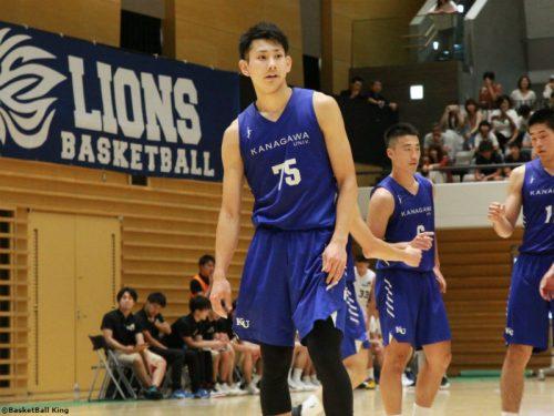 神奈川大学3年の小酒部泰暉、バスケ部を退団してアルバルク東京と特別指定選手契約
