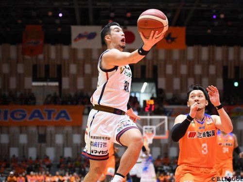 横浜ビー・コルセアーズが敵地で勝利、連敗を「4」でストップ