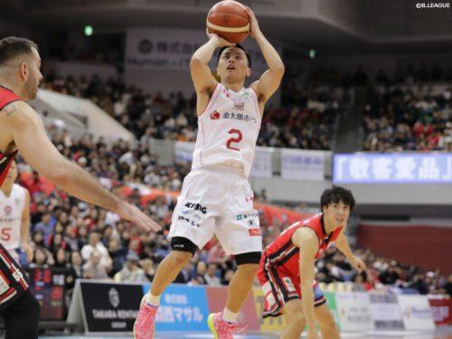 千葉ジェッツ、再延長の末に大阪エヴェッサを撃破…富樫勇樹が今季最多の35得点をマーク