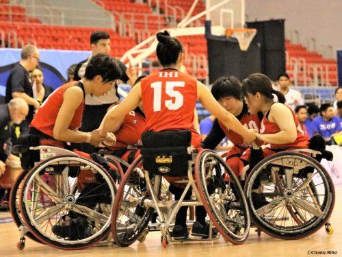 車いすバスケ女子日本代表、豪州に惜敗… 悔しさに勝利を誓う