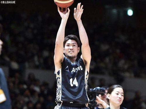 シーホース三河の金丸晃輔が3Pコンテスト連覇!