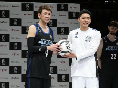 Bリーグオールスター、B.BLACKが3年ぶりの勝利…MVPはレバンガ北海道の折茂武彦