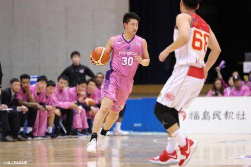 法政大学の水野幹太、川崎ブレイブサンダースに特別指定選手として加入「若手らしくエナジーを出す」