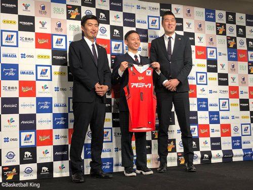 河村勇輝がBリーグデビューへ意気込み「自信がなかったら挑戦してない」…背番号は「0」に決定