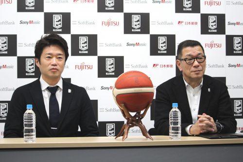 Bリーグの代表理事COOに就任した古川宏一郎氏「情熱を持って取り組んでいく」