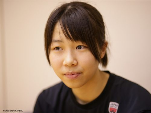 女子日本代表候補に初選出された東藤なな子(トヨタ紡織)「新しい風を起こせるように、強気で頑張ります」