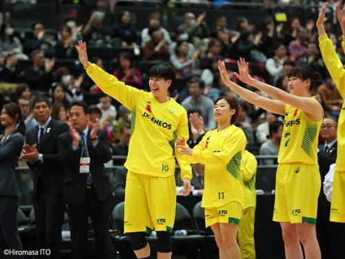 五輪イヤーの皇后杯で渡嘉敷来夢がMVP獲得「自分まだまだ伸びしろあります!」