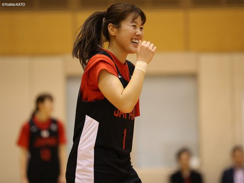 3x3女子日本代表として活躍する山本麻衣(トヨタ自動車アンテロープス)『新成人の誓い』