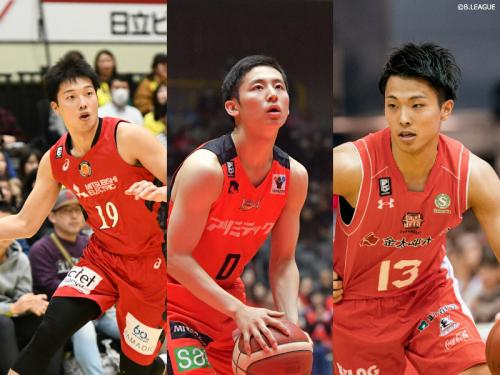 U22男子代表候補が発表、西田優大や大倉颯太…高校生からは河村勇輝ら6名が選出