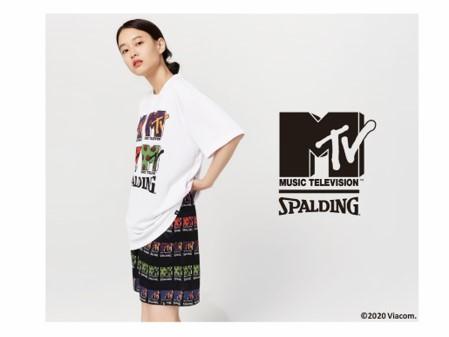 スポルディングがMTVとのコラボレーションラインを発表、6日に発売