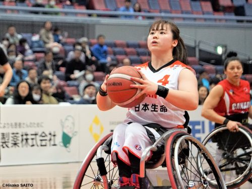 車いすバスケ女子日本代表、光ったチーム最年少・柳本あまねの存在