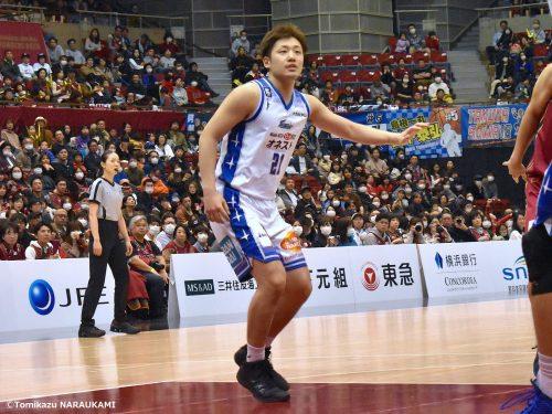 八村や同世代の特別指定選手の活躍に悔しさ、台頭を誓う納見悠仁は「島根の中心選手」を目指す