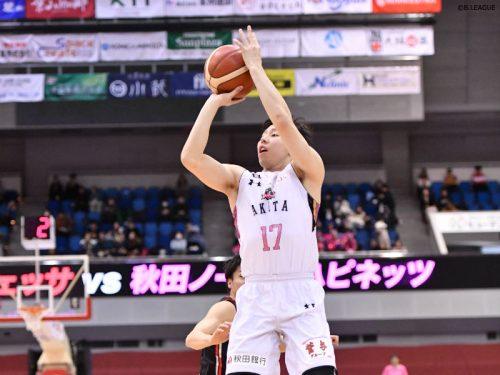 秋田ノーザンハピネッツが第1戦のリベンジを果たす、大阪エヴェッサに24点差の快勝