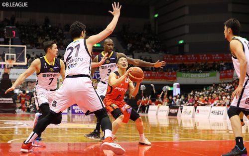 プロの壁にぶち当たる河村勇輝。「自分がしなければいけないのはチームに勝利をもたらすこと」
