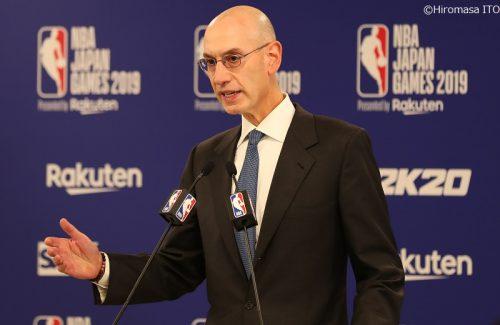 NBAコミッショナー、アダム・シルバーが世界中のNBAファンへメッセージ
