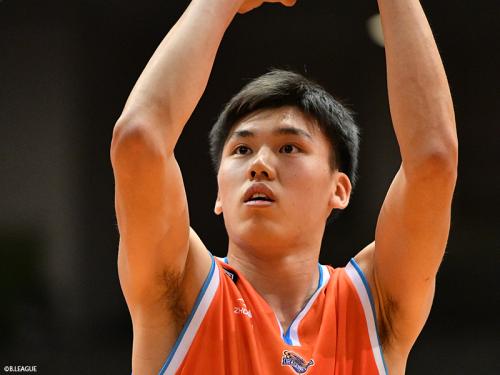 広島ドラゴンフライズの三谷桂司朗、3月14日の試合で特別指定選手としての活動を終了