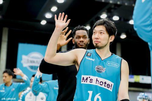 3ポイント王の松井啓十郎が自身のツイッターでコメント「チーム一丸となり戦い抜きましょう!」